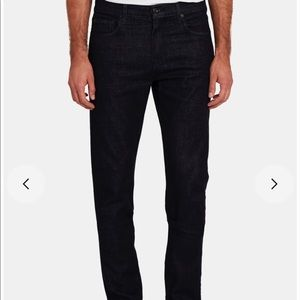NWOT 7 FOR ALL MANKIND ADRIEN BLACK CORDUROY Sz 33